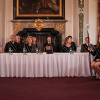 October 2016 - Photographs from the graduation ceremony at Břevnov monastery